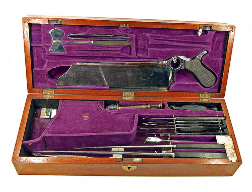 Amputation and Surgical Set