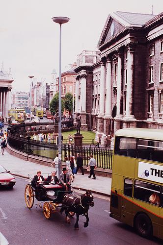 Trinity College Dublin, 1990