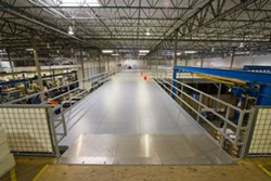 Bluff China Manufacturing Installs Industrial Mezzanine for Dallas Airmotive