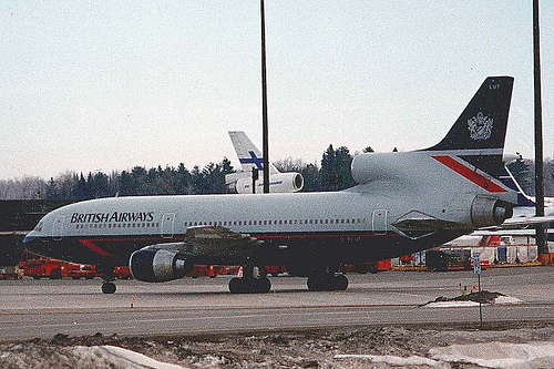 British Airways L1011-500 G-BLUT