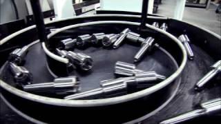 CNC Lathe Parts Accumulator by Royal Merchandise Rota-Rack