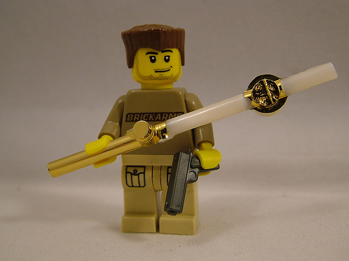 BrickArms 24kt Gold Plated Accessories – What Lies Beneath!
