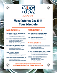 Diversified Machine Systems to Host Tours on National Manufacturing Day