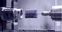 BRM Releases New Video Showing How to Automate Deburring and Surface Finishing with Flexible Hones Manufacturers Use Cylinder Honing Tools in Machine Centers