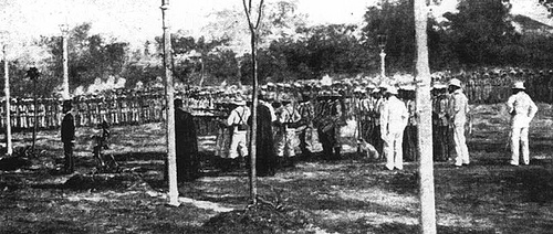 Mi Ultimo Adios – Dr Jose Rizal Fotografía de la ejecución de José Rizal [My Final Farewell – photo of execution of Dr. Jose Rizal] (1896 A.D.)