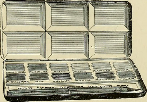 "Image from page 132 of ""How to paint : an instruction book with full description of all the materials essential."" (1894)"