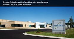 Congressman Walz Visits Leading Minnesota Electronics Company Creation Technologies, Honors Veterans